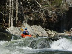 Whitewater Kayaking at Buck's Pocket State Park, Visit Marshall County's three state parks and discover why we call them Majestic. #Majestic3