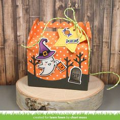Ghost Treat Box - Scrapbook.com