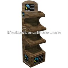 fairtrade point of sale cardbaord display stand
