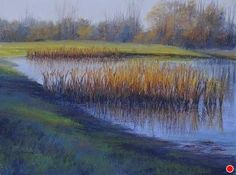 """Cool Morning by Kathy McDonnell Pastel ~ 12"""" x 16"""""""