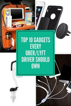 Top 10 Products Every Uber and Lyft Driver Should Own #uber #lyft #gig #top10