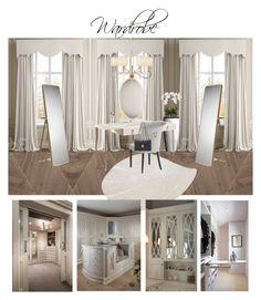 Wardrobe by veryvlada on Polyvore featuring interior, interiors, interior design, дом, home decor, interior decorating, nanimarquina and Oscar de la Renta