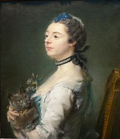 Ritratto di Magdaleine Pinceloup de la Grange di Jean Baptiste Perronneau