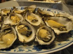 Pacific oysters from France