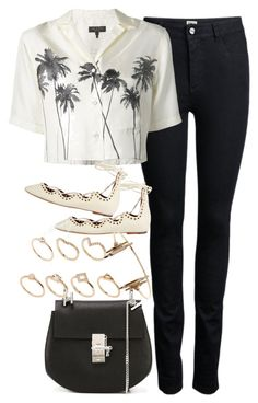 """""""Untitled #3332"""" by plainly-marie ❤ liked on Polyvore featuring ONLY, rag & bone, Isabel Marant, Chloé and ALDO"""