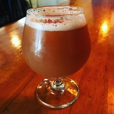 """So Wren House released a special cask in honor of July 4th.  It's their Horse Sense IPA conditioned on strawberry raspberry blueberry blackberry l pomegranate apple cranberry red grape banana and orange purée.  Tastes like its namesake """"patriotic smoothie."""" There's like a firkin of this so it will go fast.  Don't miss it!  #hoppycraftsmen"""