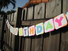 The Fresh Beat Band Birthday Banner by PutYourHeartInIt on Etsy, $16.00