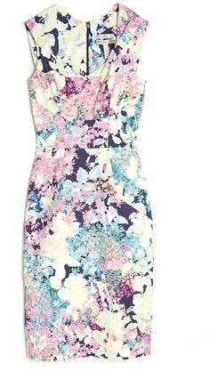 Trina Sleeveless Dress - Lyst