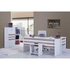 Alpino markalı bu çalışma masası en uygun ergonomik tasarıma sahip.