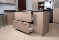 The Contemporary Black Kitchen http://www.houzz.com/projects/700045/the-contemporary-black-kitchen
