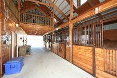 loft above stables | The Loft above the Stable at this Equestrian Estate in Bixby, Oklahoma ...