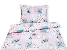 Bavlněné ložní povlečení - vzor 464 motýli a ptáčci   Goldea.cz Comforters, Blanket, Bed, Furniture, Home Decor, Creature Comforts, Quilts, Decoration Home, Stream Bed