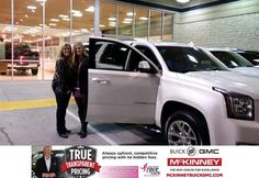 https://flic.kr/p/CG2ucM   Happy Anniversary to John on your #GMC #Yukon XL from Trent Combs at McKinney Buick GMC!   deliverymaxx.com/DealerReviews.aspx?DealerCode=ZAKC