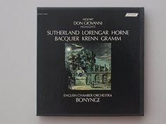 Amazon.com: Buying Choices: Joan Sutherland, Amadeus Mozart/Don Giovanni (Pre-Recorded Reel To Reel Audio Tape)