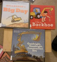 Read-at-Home Mom: Library Haul: Picture Books About Construction and Thanksgiving