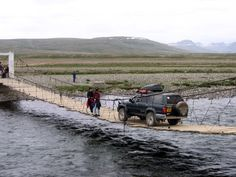 WORLD'S SCARIEST BRIDGES REVEALED IN STOMACH CHURNING PHOTOS <<=>> 19. Deosai bridge, Skardu Gilgit-Baltistan, Pakistan | Located in the Deosai Park Road in Skardu Gilgit-Baltistan province, in northern Pakistan, the road has a length of 82.4 km. [51.2 miles] It includes gravel, asphalt, river crossing and one of the scariest wood bridges in the world. The road runs at an average altitude of 13,497 feet above the sea level.