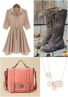 Lovely fall fashion inspiration! #fossil #fossilhandbags