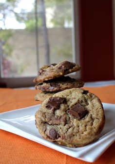 Nutella Chunk Cookies.  This recipe is by a 10 year old boy who has his own foodie blog and posts recipes that he's come up with.  Genius!  Check it out: http://www.recipeboy.com/