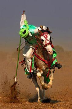 Umair Ghani: Strike of the Tent Pegger