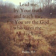 Psalms 25:5