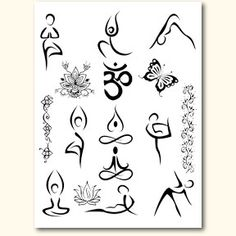yoga tattoos - Google Search