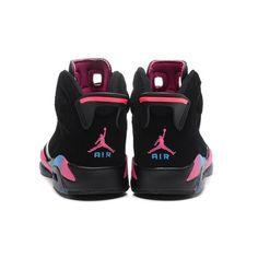 uk availability d7ce3 21fd7 cheap air jordan 6 mens retro black pink flash marina blue online shop Jordans  6,