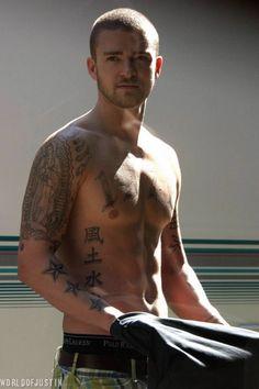 Justin Timberlake...yum.