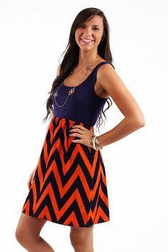 Get Loud Dress, purple/orange $45 www.themintjulepboutique.com