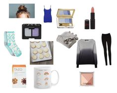 """""""Ice bunny"""" by kikikitty44 ❤ liked on Polyvore featuring Estée Lauder, NARS Cosmetics, Rimmel, Clinique, Victoria Classics, 360 Sweater, Oasis, WearAll, Free Press and Crate and Barrel"""