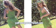 Vestido para ir a la playa ~ Moldes y Paso a Paso Crochet ~ Patrones para Crochet