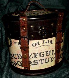 Ouija Board Box Purse handmade Witch Occult Halloween #Handmade #woodbox