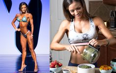 "Bodybuilding ""I'm a vegan bodybuilder—here's what I eat in a day."" - ""I'm in the best shape of my life not despite, but because of, the vegan lifestyle. Fitness Model Diet, Fitness Models, Sport Fitness, Female Fitness, Women's Fitness, Fitness Motivation, Vegan Bodybuilding Diet, Bodybuilding Recipes, Vegetarian Bodybuilding Meal Plan"