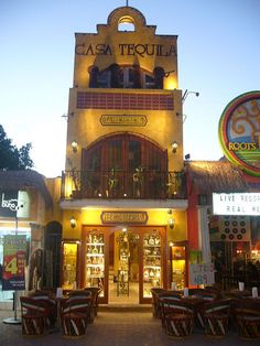 For those who LOVE tequila- a visit to Casa Tequila in Fifth Avenue, Playa del Carmen is a must! over 300+ different flavours of tequila to try and buy. it's like a tequila 'aladdins cave'!