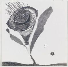 Nicola Tyson,  Pollen 2015 Graphite on paper