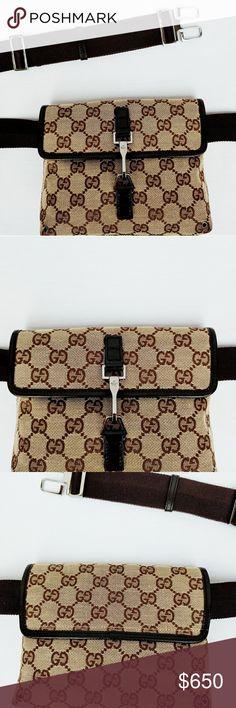 eefb419867b3 Gucci Original Belt/Waist / Shoulder Bag Rare gorgeous Gucci Belt/Waist Bag  which