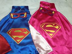 Boys & Girls Super Hero Outfit Includes Batman by KlassiKreations
