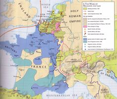 European Wars of Religion 1547-1610 | ^² https://de.pinterest.com/christipedia/europa/
