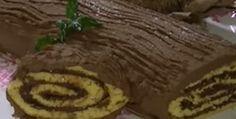 Tronchetto alla Nutella - #Ricetta di #Natale http://www.lorointavola.it/tronchetto-alla-nutella/