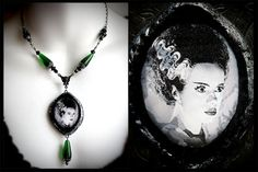 Hey, I found this really awesome Etsy listing at https://www.etsy.com/listing/164446817/the-bride-of-frankenstein-classic