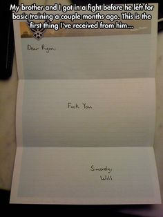 I Think It's an Apology // funny pictures - funny photos - funny images - funny pics - funny quotes - You Funny, Funny People, Hilarious, Funny Stuff, Funny Shit, Funny Images, Funny Pictures, Sibling Rivalry, Sisters