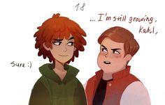 Cartman: *is 78 y o* i'M STILL GROWING, KAHL,