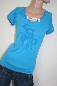 a43063aa6dbd Esprit Top Sport Shirt Bluse A57 Tunika T-Shirt Blau Gr XS Gr 34 NEU 37,95  EUR