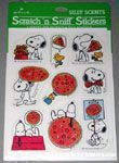 Snoopy & Woodstock Pizza Scratch & Sniff Stickers
