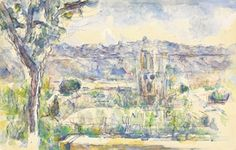 cezanne watercolors - Google Search