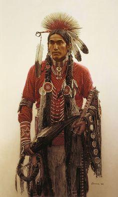 Native American Art - by James Bama