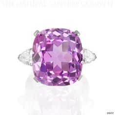 Lilac Natural Sapphire Ring