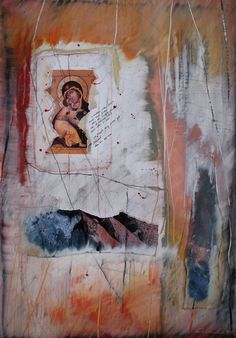 Åse Margrethe Hansen/Madonna. Mixed media, 2009