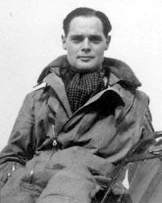 19 Aug 41: A replacement prosthetic leg for captured Group Captin Douglas Bader is dropped by a British bomber over Saint-Omer, Pas-de-Calais, France, with permission from Luftwaffe leaders. After the delivery, however, the British bomber continues on to bomb a power station in occupied France. #WWII