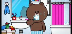 With Tenor, maker of GIF Keyboard, add popular Brown And Cony animated GIFs to your conversations. Share the best GIFs now >>> Cony Brown, Brown Bear, Bear Gif, Cartoon Lion, Cute Cartoon Images, Good Night Gif, Cute Love Gif, Cute Love Cartoons, Meme Comics
