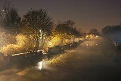 Mist on the Lee Navigation, Clapton